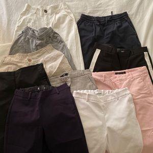 Huge lot of pants